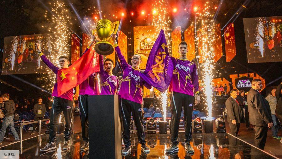 Clash of Clans winners Nova Esports