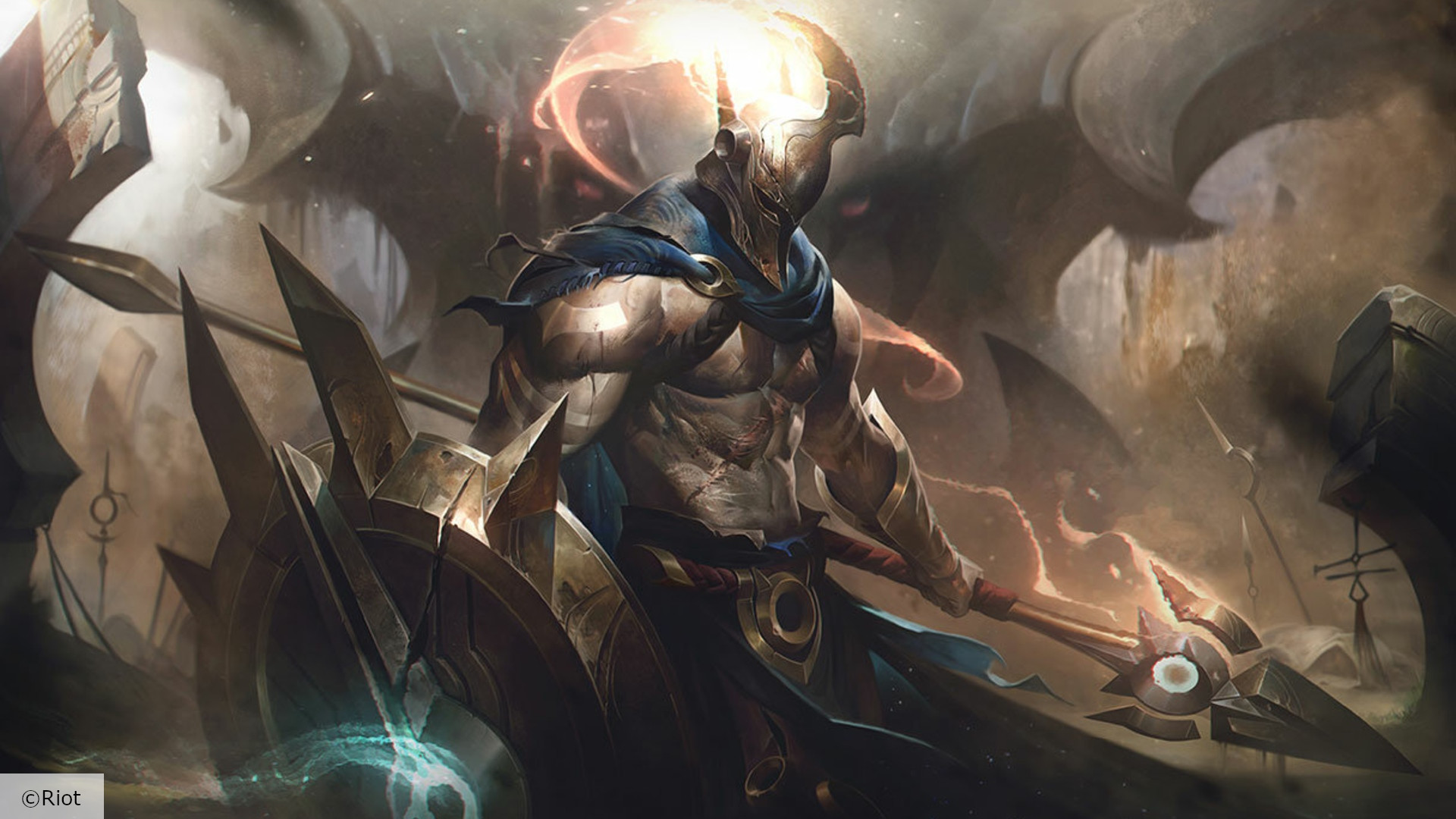League Of Legends Champion Pantheon Has A 100 Ban Rate So