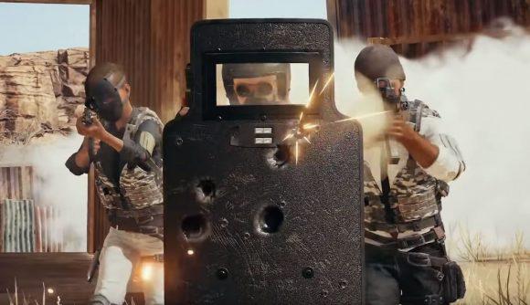 Riot shield PUBG
