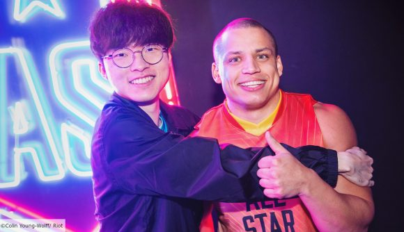 Tyler1 and Faker