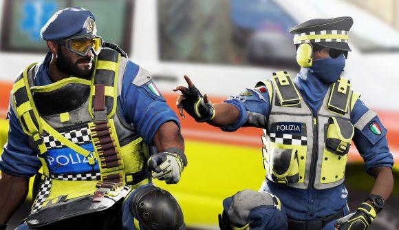 Rainbow Six Siege police skins
