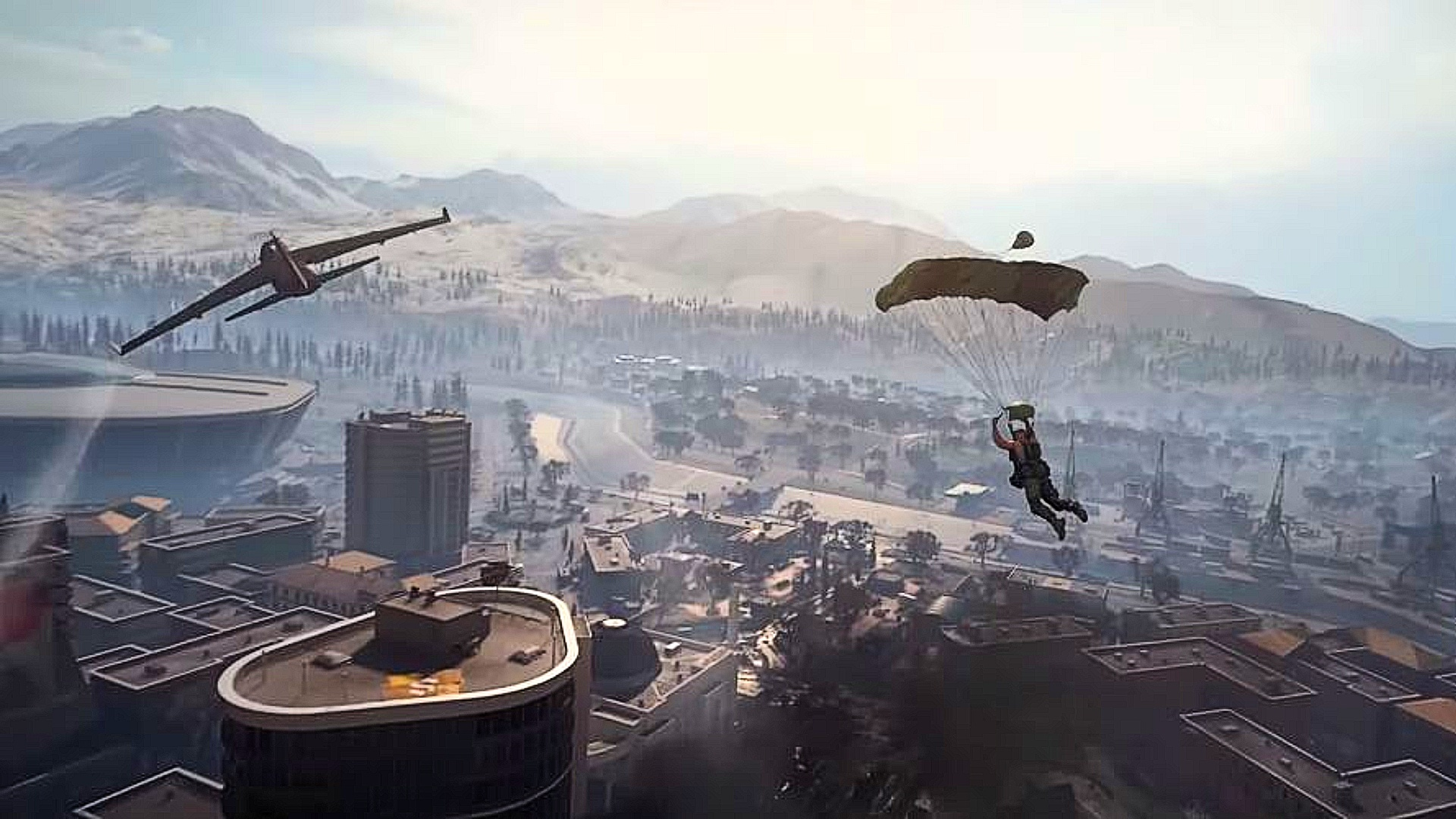 Call Of Duty Warzone S Parachute Bug Should Be Patched In Season