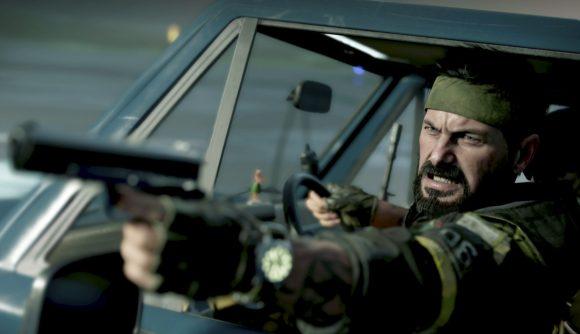 Call of Duty Black Ops Cold War car shootout