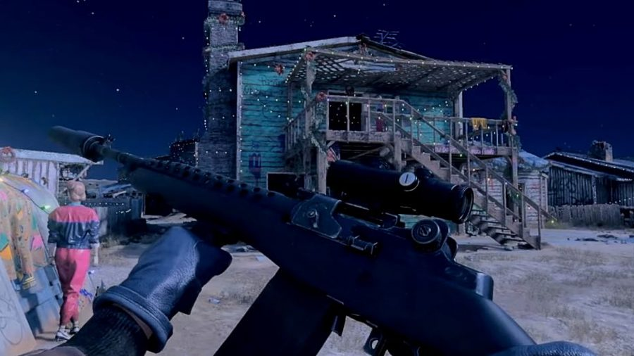 The DMR tactical rifle in Black Ops Cold War