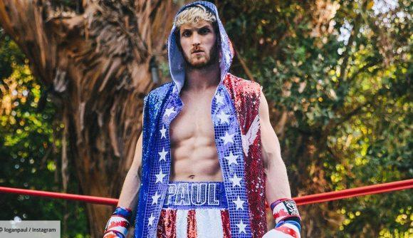 logan paul in boxing attire