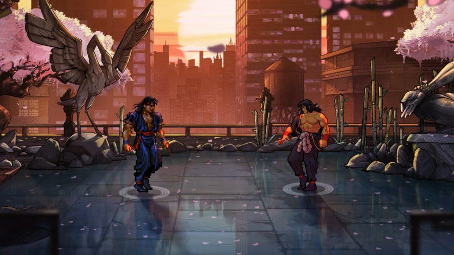 sStreets of Rage 4 fight scene
