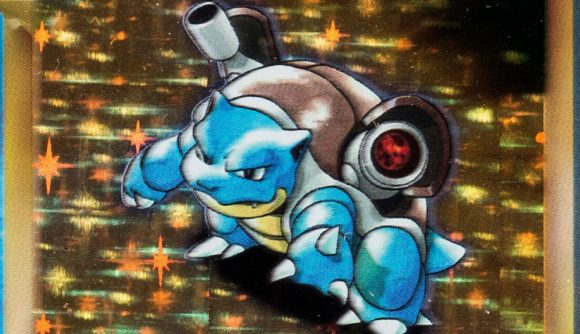 Pokémon TCG Blastoise rare card