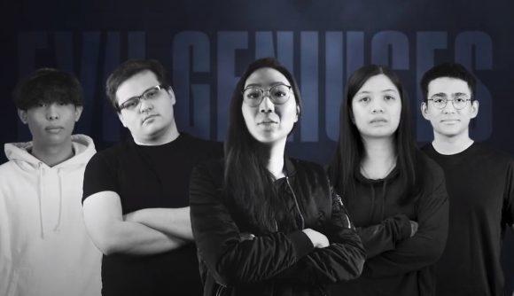 The new Evil Geniuses Valorant roster