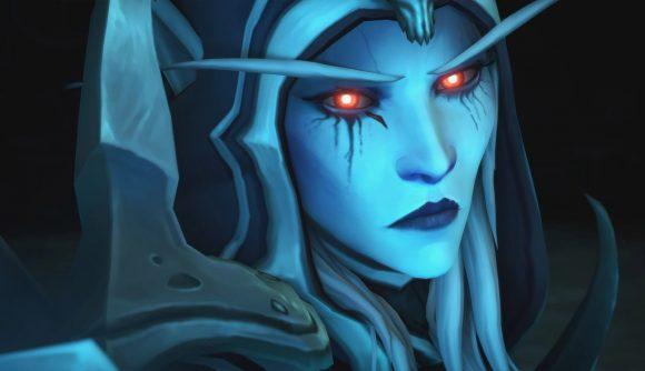 Sylvanas Windrunner, the main boss in WoW Shadowlands' Sanctum of Domination raid