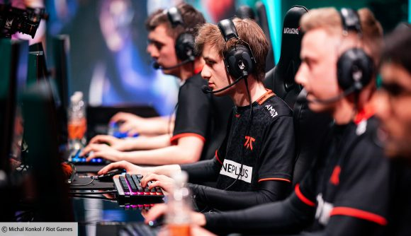 Former Fnatic player Nemesis during his time with the team