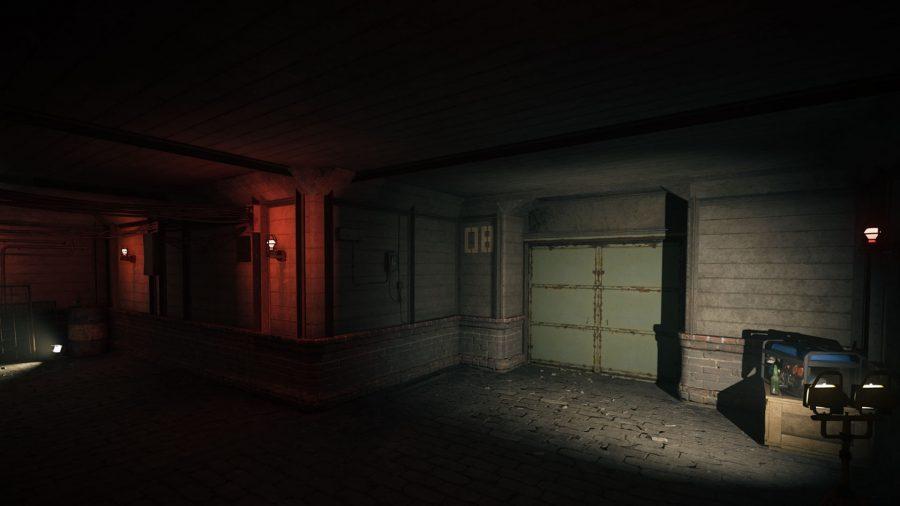 Warzone bunker locations: The gloomy inside of a WW2 era bunker