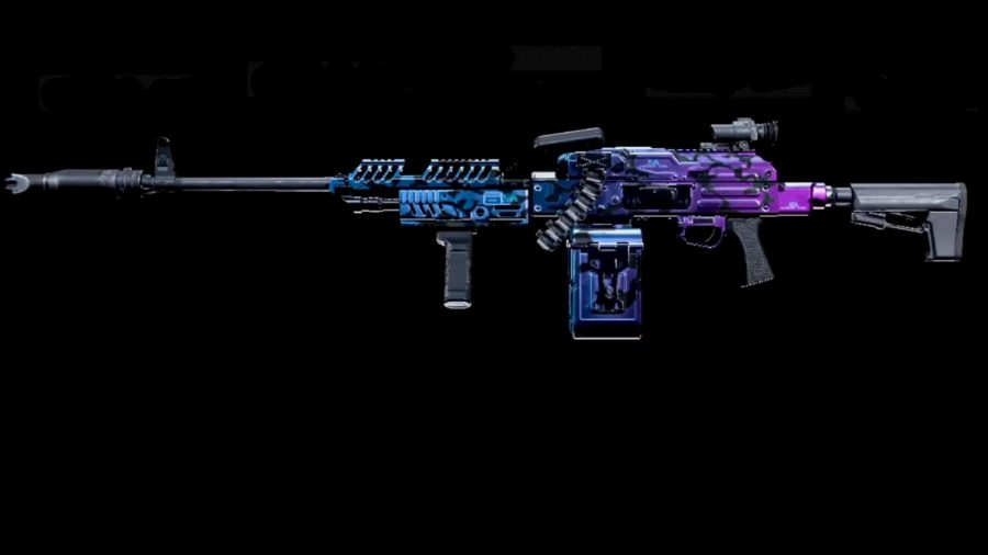 The PKM LMG in Warzone