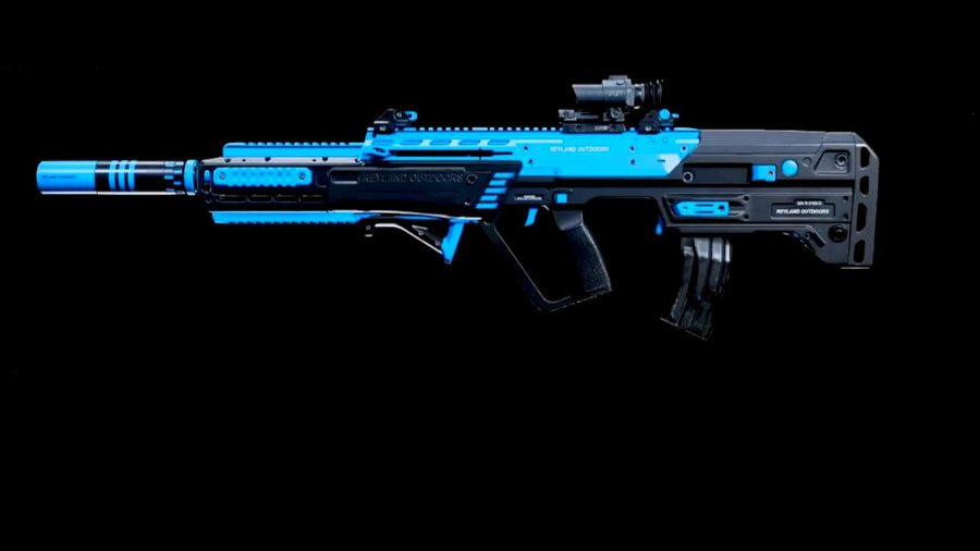 A RAM-7 assault rifle in Warzone