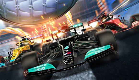 Rocket League Formula 1 header