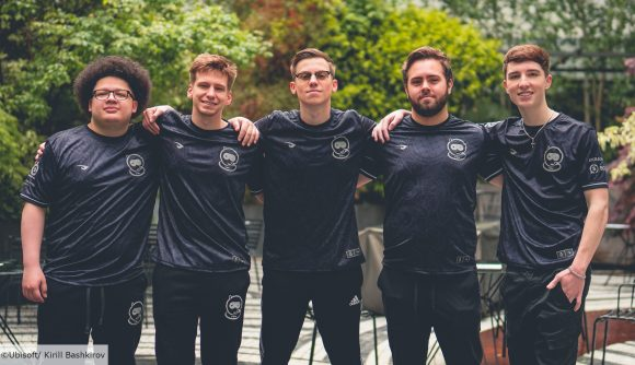 Spacestation Gaming's Rainbow Six Siege team standing side by side
