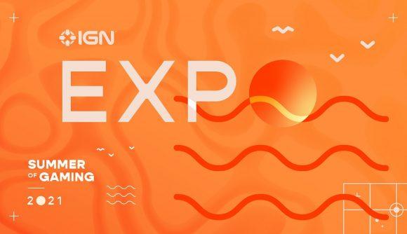 IGN Expo logo in bright orange