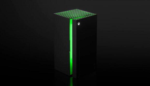 The Xbox Series X mini-fridge