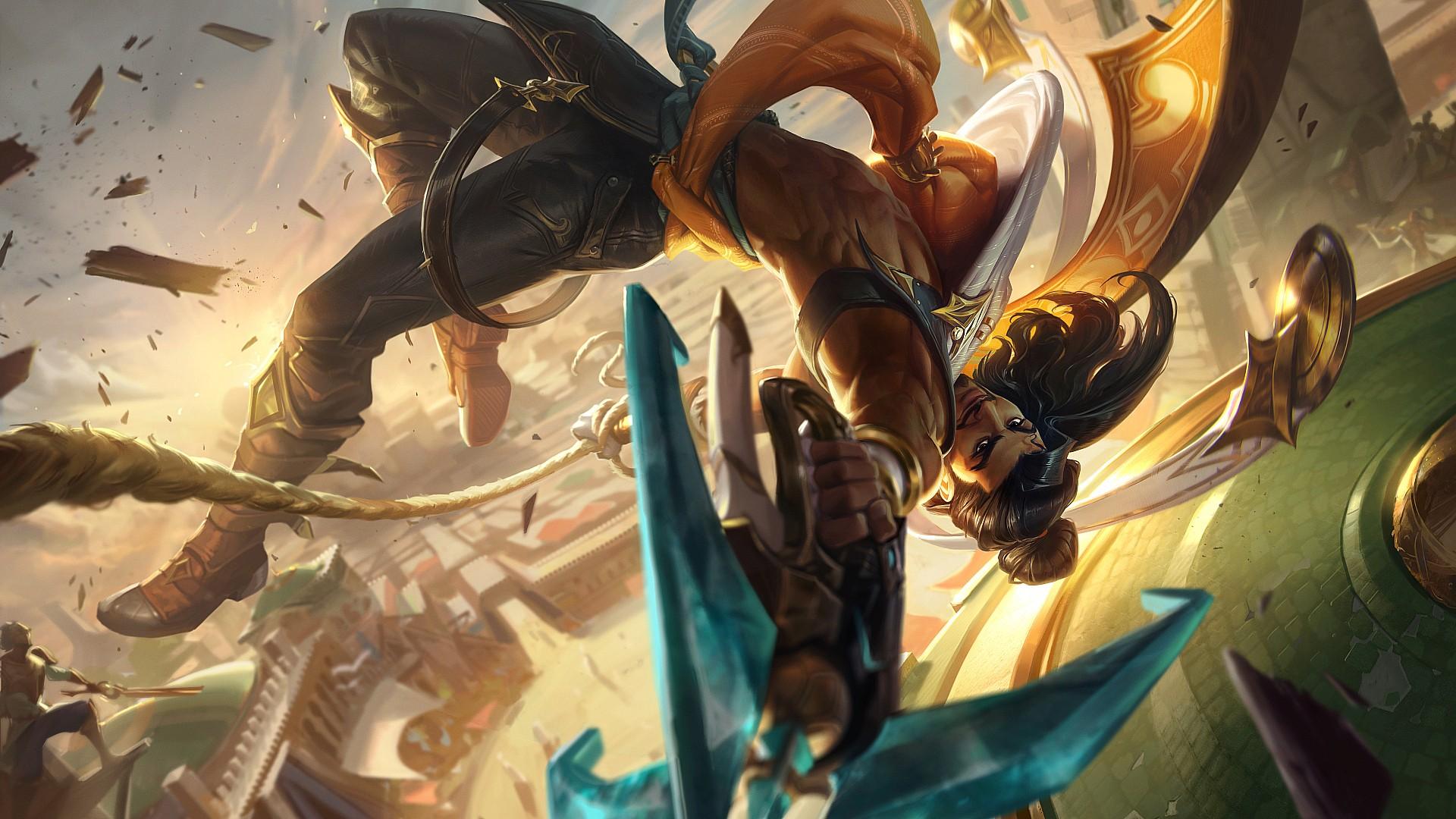 Riot Games reveals new League of Legends champion Akshan ...