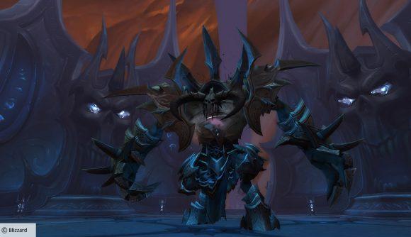 Tarragrue, the first boss in WoW's Sanctum of Domination raid