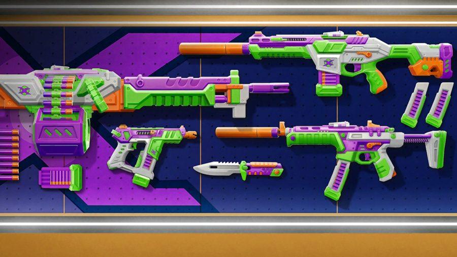 Guns that look like nerf blasters in Valorant