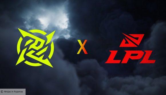 The NIP and LPL logos