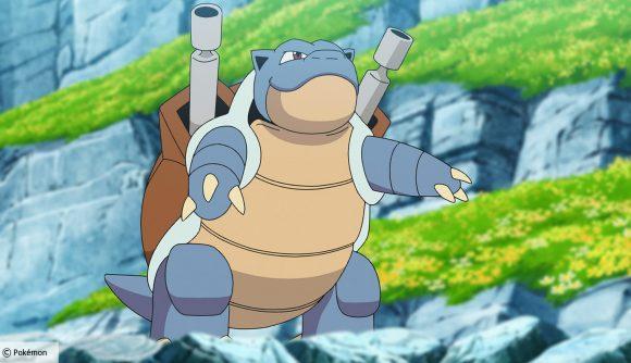 Pokémon Unite's Blastoise