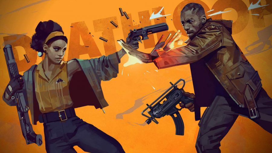Colt and Juliana can be seen in Deathloop's key art.