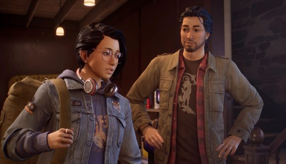 Alex and her brother can be seen in a screenshot for the game.