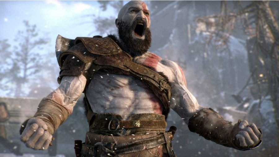 Kratos can be seen in God of War