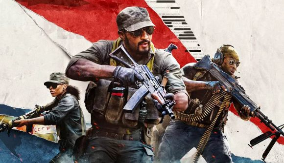 Three soldiers can be seen in the Black Ops Cold War key art.