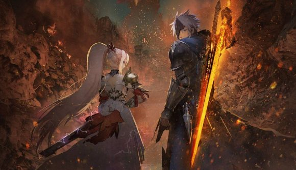 Two of Tales of Arise's protagonists can be seen in the key art.