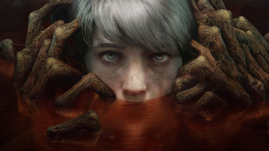 The Medium's Marianne can be seen in the game's key art between her two worlds.