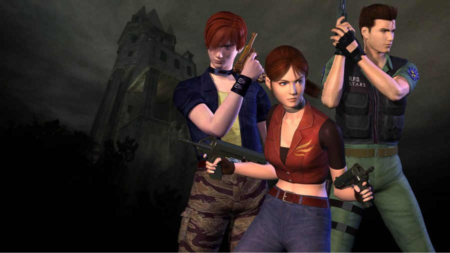 xbox-games-with-gold-october-2021: the main characters of the game stand in the key art.