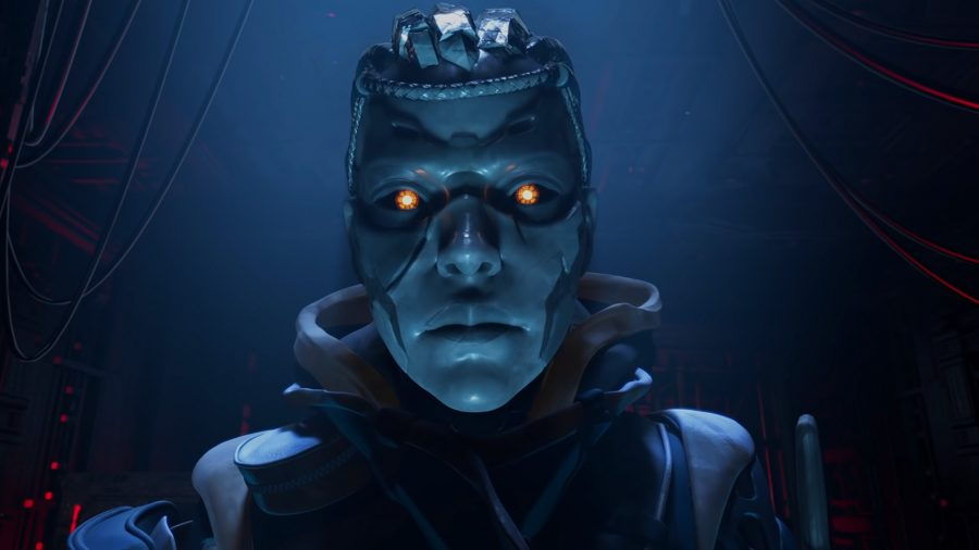 Apex Legends Ash release date: Ash, the robotic simulacrum with blue skin and yellowish eyes