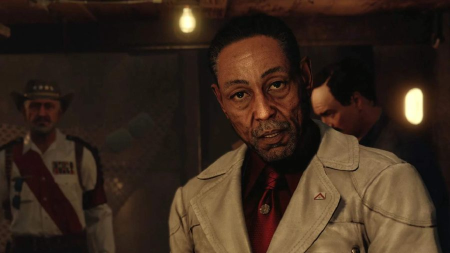 Far Cry 6 Ending Explained: Castillo can be seen looking at the camera.