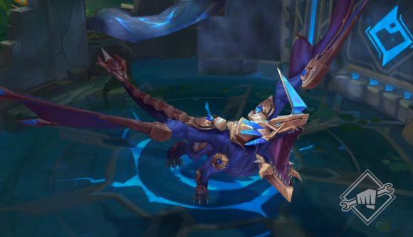 LoL's Hextech dragon