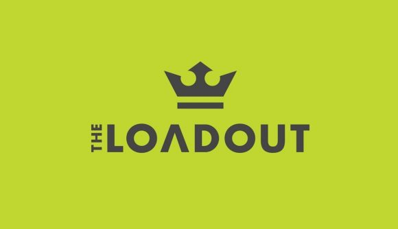 The Loadout logo on a green background