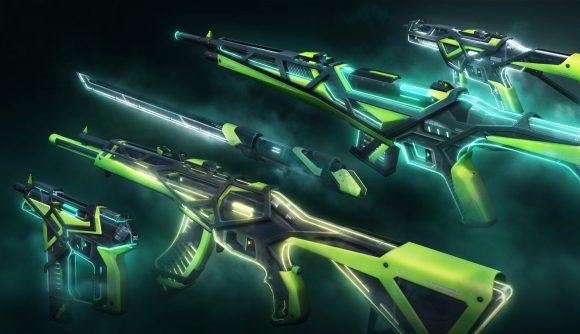 Valorant's RGX 11z Pro skins